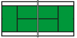Speelveld groen